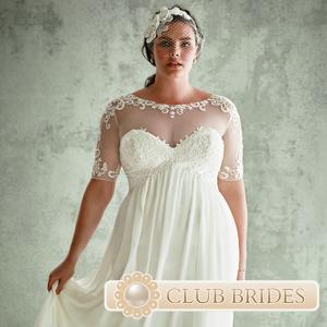 6b18988687b7eda Свадебные платья для полных девушек (30 фото правильных платьев)
